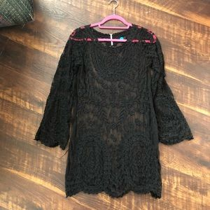 Free People Sheer Dress S